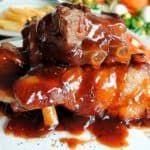 Na Cozinha da Margô: Esta é a Famosa Carne de Panela que desfia - - Passover Recipes, Jewish Recipes, Best Soup Recipes, Pork Recipes, Amazing Recipes, Healthy Recipes, Como Hacer Salsa Bbq, Salsa Barbacoa Casera, My Favorite Food