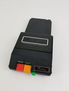 Vintage Cassette Eight Adaptor Mustang Stereo Black Untested Sold As Is Eight, Mustang, Card Holder, Electronics, Vintage, Black, Mustangs, Rolodex, Black People