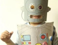 This Robot Costume is a brilliant way to get kids making their own homemade Halloween costumes. This awesome tutorial provides printable templates, so it's easy for kids to just decorate and go. This is one of the best creative costume ideas for kids.