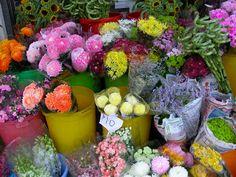 #flowers #aromaterapia - flores pelas ruas Hong Kong Flowers for Sale