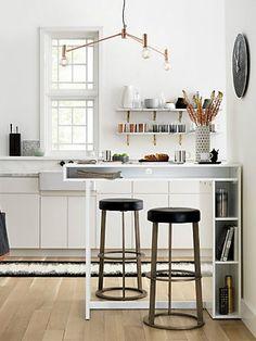 Moderne Küchen familie land Kochinsel küchenblock freistehend ... | {Küchenblock freistehend mit bar 39}