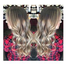 sandy long blonde hair :: RedBloom Salon