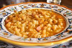 Pasta e ceci (Pasta and Chickpeas)   Memorie di Angelina