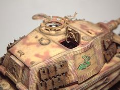 Zoom avant (dimensions réelles: 1000 x Tiger Ii, Panzer, War Machine, Wwii, Armour, Modeling, War, Tanks, Military Diorama