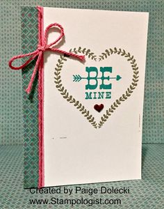 Paige Dolecki - Stampologist: January Card Buffet - 22 and 23 Jan - Cards #4, 5 and 6!