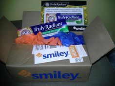 latest mission from Smiley.  free Arm & Hammer truly Radiant toothpaste.