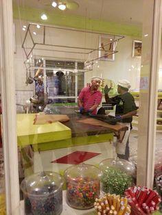 Candy kitchen at Karls Erdbeerhof in Karlshagen