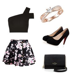 """""""Untitled #123"""" by ravekait ❤ liked on Polyvore featuring TIBI, Kate Spade, women's clothing, women, female, woman, misses and juniors"""