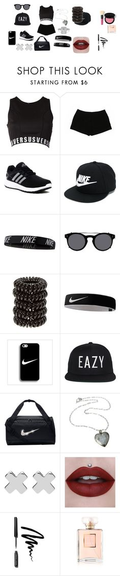 """""""gim"""" by viole-carabez on Polyvore featuring Versus, Express, adidas, NIKE, Valentino, Witchery, Bobbi Brown Cosmetics, Chanel, men's fashion y menswear"""