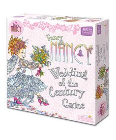 Loving this Fancy Nancy Wedding of the Century Board Game on #zulily! #zulilyfinds