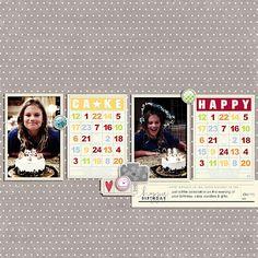 cute use of bingo-type cards