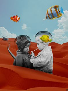 The surreal digital collages of Kostis Pavlou - Art People Gallery Collages, Surreal Collage, Surreal Art, Collage Art, Photomontage, Creepy Pictures, Greek Art, Glitch Art, Weird Art