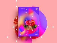 –It's Friday.– designed by MadeByStudioJQ. Rose Flower Wallpaper, Motion Design, Letting Go, Behance, Friday, Let It Be, Poster, Instagram, Facebook