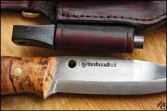 Bushcraft Biker: Spyderco Bushcraft Knife Sheath