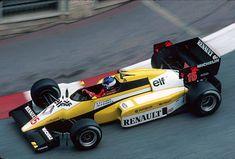 Patrick Tambay (Renault) Grand Prix de Monaco 1984 - source F1 Fotos