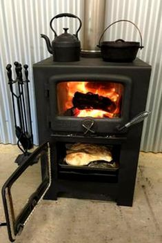 Bakers Oven Thermal M Cabin Tent Iron Doors Wood Stoves Ovens