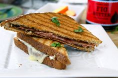 Proscuitto Panino - This recipe uses Prosciutto and Fig butter, but I ...