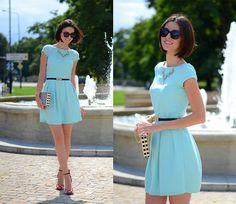 Daisyline . - Zara Heels, Mohito Dress - Mint dress