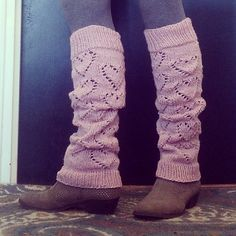 Leg Warmers - Lots of Love work well in a wool blend.