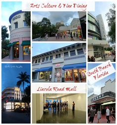 Lincoln Road Mall South Beach Fun things to do in South Beach Miami Beach Florida