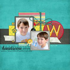 #scrapbooking #page #layout