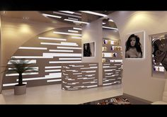 Beauty salon by Anar Rustamov, via Behance