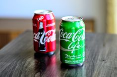 What I Drink At Work: Coca-Cola Life and Comparison