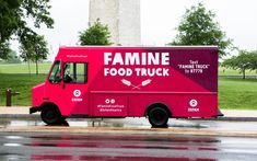 This week Oxfam is getting in on the food truck action, but hungry lunch-goers are in for a surprise when they go to place an order. Oxfam won't be serving any food.