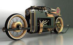Estos conceptos de motocicletas muestran un extraordinario nivel de estilo e imaginación. La mezcla de las motos clásicas con las motos actuales. Algunos diseños