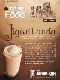 #Madurai Special Jigarthanda is an yummy super cool drink packed with all the benefits of badam pisin, nannari sarbath and milk. Every scoop will give various blasts of taste and texture.  #srijanakiram #strretfood #jigarthanda