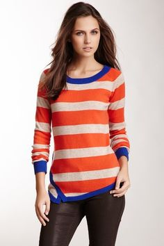 Jamison Striped Wool Sweater by Non Specific on @HauteLook