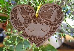 Heelander heart decoration by gabiReith on Etsy, £8.00