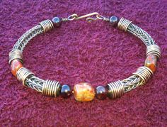...and THIS. Wow.    Mens Copper Viking Knit Bracelet  Patina with by NorseFindings, $30.00