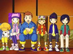 Tommy Himi, Zoey Orimoto, J.P. Shibayama, Takuya Kanbara, Koji Minamoto, and his long-lost twin brother, Koichi Kimura