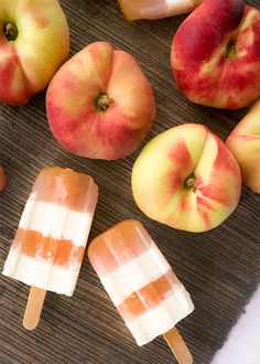 peaches and cream pops recipe by Nanette Wong for Sugar & Cloth