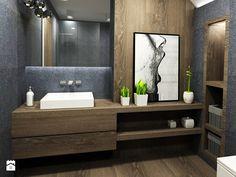 Dom 142 m2 - Łazienka, styl nowoczesny - zdjęcie od katadesign