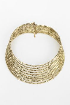 Own a similiar. Beaded Choker Necklace #UrbanOutfitters
