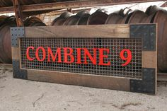 Custom Vintage Industrial Signs for your business.  by C9Signs, $390.00