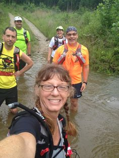 Kathy runs trails... And water too!