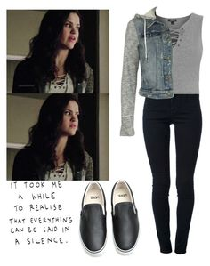 """Hayden Romero 5x12 - tw / teen wolf"" by shadyannon ❤ liked on Polyvore featuring mode, STELLA McCARTNEY, Vans, Topshop en Free People"