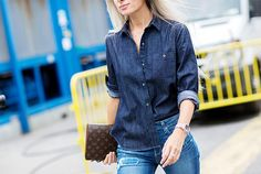 The Latest Street Style Photos From New York Fashion Week via @WhoWhatWear http://YuUStyle.net