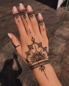 (notitle) (notitle),Henna Related posts:Nirvana Threads - Customizable Clothing With a Purpose by Timothy Teruo Watters . - Henna designs hand tattoo ideas that are so popular in 2019 - . Cool Henna, Henna Tattoo Designs Simple, Pretty Henna Designs, Henna Designs Easy, Henna Flower Designs, Simple Henna Patterns, Designs Mehndi, Henna Designs For Hands, Ankle Henna Designs