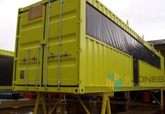 Container Conversions Wahaca Mexican restaurant which consists of 8 converted shipping containers