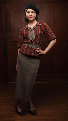 Bonnie & Clyde's Costume Designer Discusses The Iconic Fashion In The Series 1930s Fashion, Retro Fashion, Vintage Fashion, Womens Fashion, Victorian Fashion, Fashion Fashion, Vintage Mode, Look Vintage, Moda Lolita