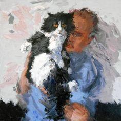 "Saatchi Art Artist Fred Bell; Painting, ""Steve"" #art"