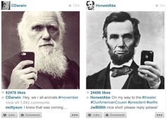 If our forebears had Instagram...