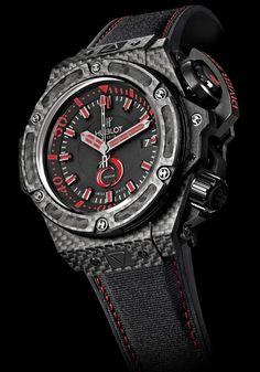 2b7bb55fb Hublot King Power Alinghi 4000 (Carbon Fiber case + bezel) Casual Watches