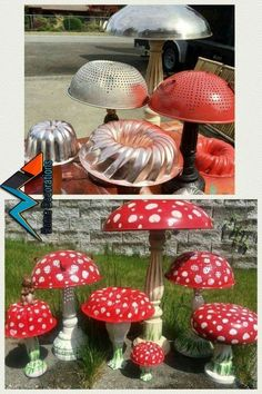 32 Awesome Fairy Garden Design Ideas To Try. If you are looking for Fairy Garden Design Ideas To Try, You come to the right place. Below are the Fairy Garden Design Ideas To Try. Garden Crafts, Diy Garden Decor, Garden Projects, Garden Decorations, Recycled Garden Art, Yard Art Crafts, Diy Crafts, Diy Decoration, Art Projects