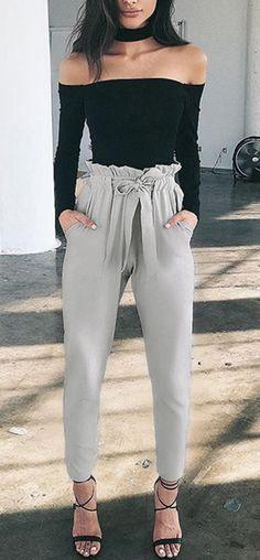 110 Ideas De Pantalones Lazo Ropa Moda Moda Para Mujer