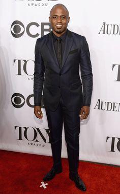 Wayne Brady from Tony Awards 2014: Red Carpet Arrivals | E! Online